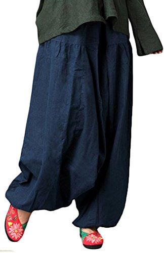 MatchLife - Pantalón - Skort - para mujer azul marino