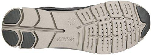C9002 Sukie D Gris Geox Dk Basses Femme Baskets Grey A PzURqx5