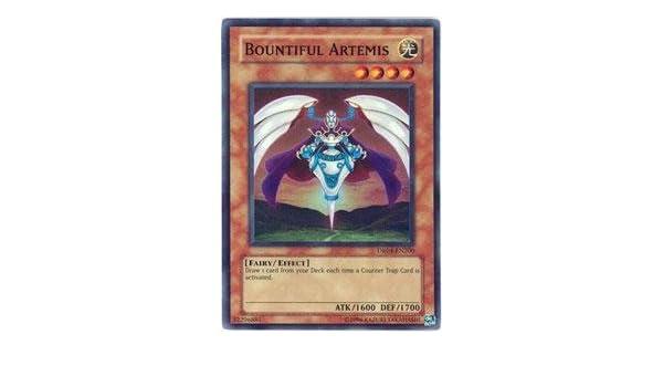 Yugioh *Bountiful Artemis DR04-EN200* Super Rare LP