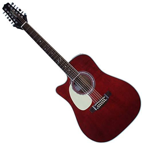 (Takamine JJ325SRC 12 String Left Handed John Jorgenson Acoustic Guitar Gloss Polyurethane)