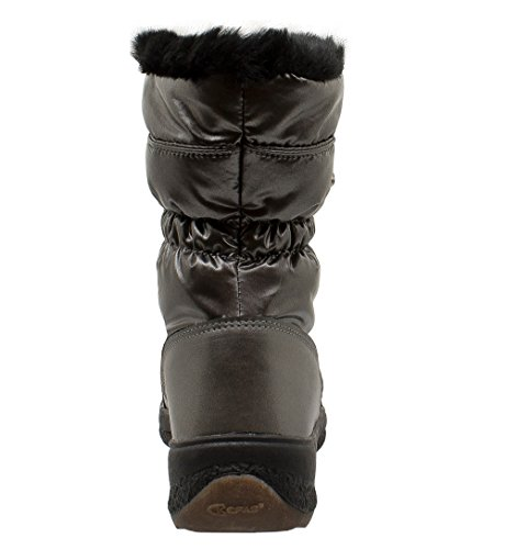 Woman Boot Grey Winter 3222 Snow KEFAS GAIYA dUxqwd
