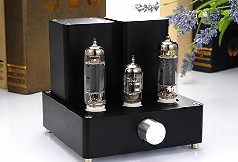 GOWE EL84 + 12ax7 mini Ampli de válvulas negro tubo amplificador: Amazon.es: Bricolaje y herramientas