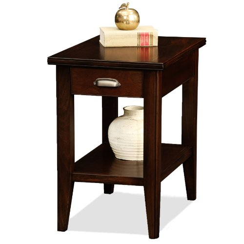 Leick Laurent  Chairside End Table with Drawer