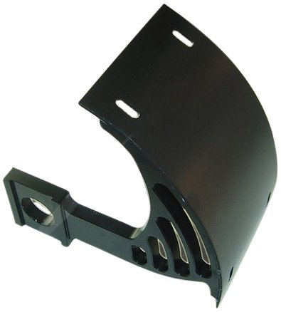 Yana Shiki YS2549044 Black License Plate Frame Tag Bracket for Yamaha YZF/R1