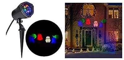 Star Wars Yoda, Darth Vader, R2D2 LightShow Swirling Multicolor LED Christmas Spotlight Projector