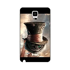 Characters Of Alice In Wonderland Phone Case for Samsung Galaxy Note 4 Cute Perfect Anime Pattern Cover Case