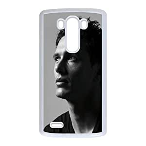 Cute TPU Case Celebrities Actor James Franco LG G3 Cell Phone Case White