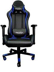 Cadeira Escritório Gamer MoobX Thunder Preto e Azul