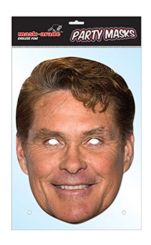 David Hasselhoff Celebrity Face Mask