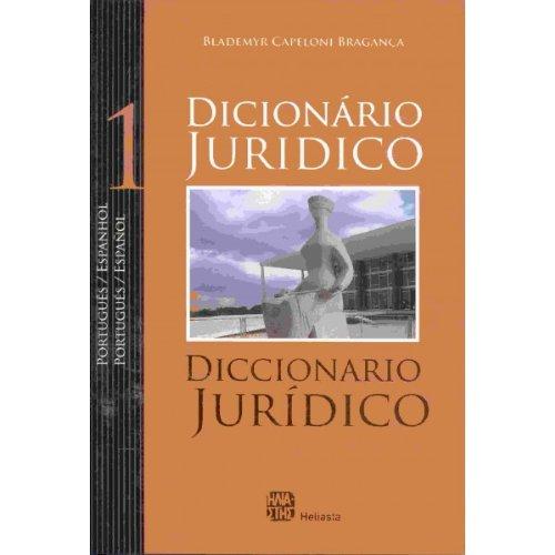 Diccionario Jurídico Portugues-español / Español-portugues 2 ...