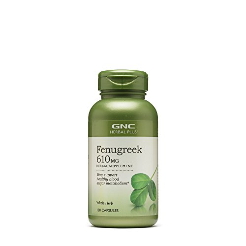 GNC Herbal Plus Fenugreek 610mg 100 caps