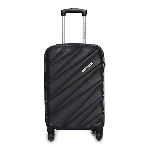 LD United Colors of Benetton Roadster Hardcase Luggage ABS 77 cms Black Hardsided Check in Luggage 0IP6HAB28B02I