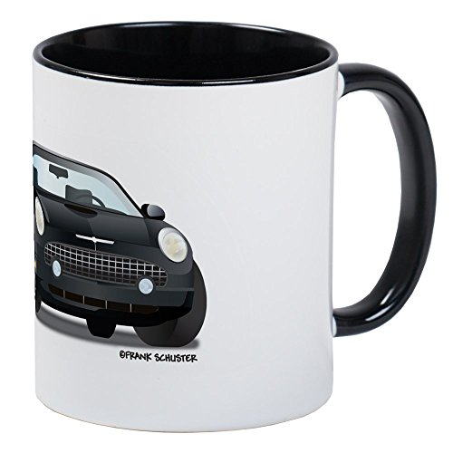 CafePress - 2002 05 Ford Thunderbird Blk Mug - Unique Coffee Mug, Coffee Cup