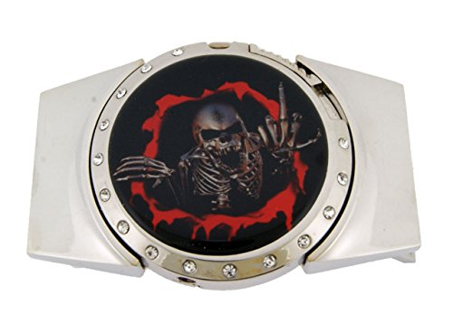 Skull Belt Buckle Skeleton Goth Tribal Working Removable Lighter Holder MetalSkull Belt Buckle Skeleton Goth Tribal Working Removable Lighter Holder Metal (Skull Buckle Metal)