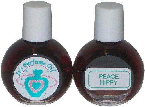 It's Perfume Oil - Branded Original - Peace Hippy - Parfum Essence .57 Ounce (17ml) ()