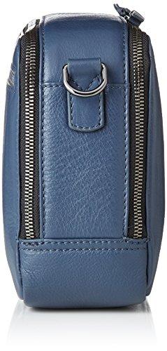 1 Blue Blau Bandoulière Cuir 22 Bree Nieva Cm Sac ombre wHC75Bnxq