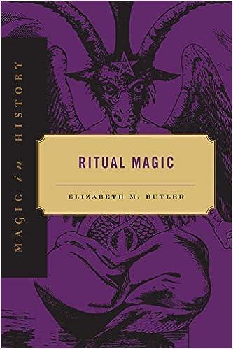 Ritual Magic (Magic in History): Elizabeth M  Butler: 9780271018461