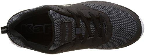 Kappa Fantom, Zapatillas de Baloncesto para Hombre Noir (Black / Silver)