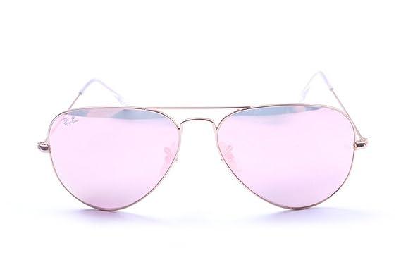 Ray-Ban - Gafas de sol - para niña Rosa rosa: Amazon.es ...