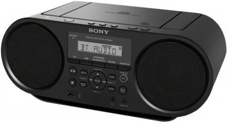 Sony Portable Bluetooth Digital Turner AM/FM CD Player Mega Bass Reflex Stereo Sound System