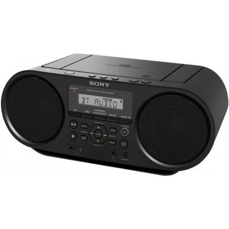 (Sony Portable Bluetooth Digital Tuner AM/FM Radio Cd Player Mega Bass Reflex Stereo Sound System)