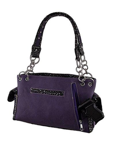 La La Mujer De Cartera De Púrpura Vinilo Monedero De Zeckos nxvq4aHE
