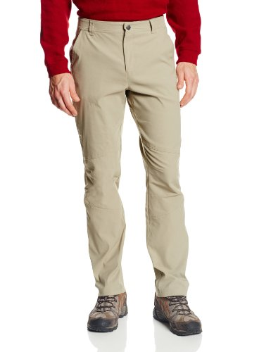 Straight Leg Trousers Pocket - Columbia Men's Royce Peak Pant, Tusk, 32x30-Inch