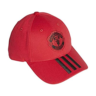 adidas Soccer Cap Hat Manchester United 3 Stripes Football New