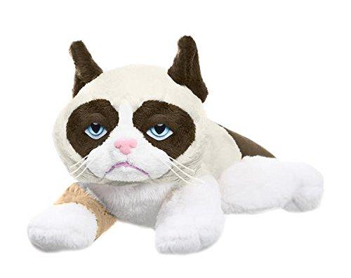 Ganz Grumpy Cat Laying Plush, 8