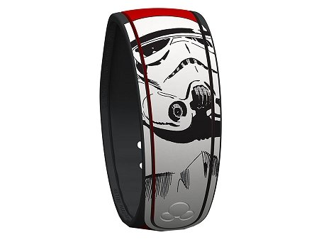 [Disney World Exclusive Star Wars Stormtrooper MagicBand Link It Later Red Magic Band] (Stormtrooper Disney)
