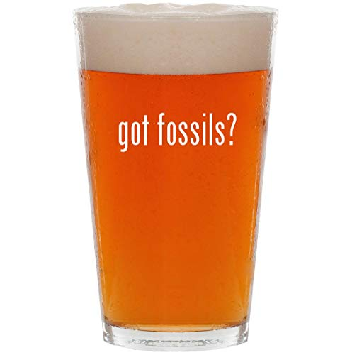 - got fossils? - 16oz All Purpose Pint Beer Glass