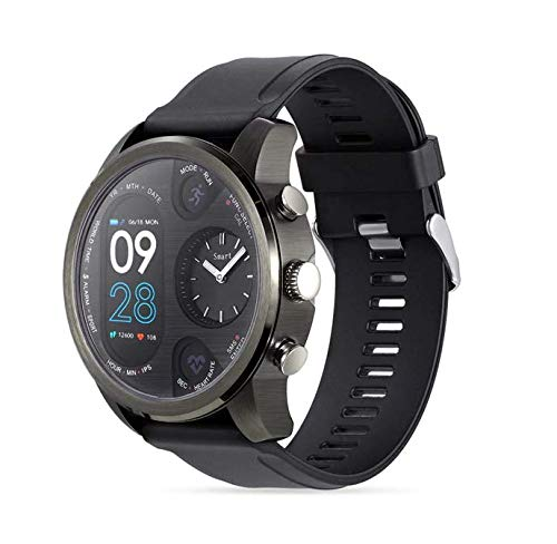 Amazon.com: LEMFO T3 Dual Display Smart Watch for Men (Gray ...