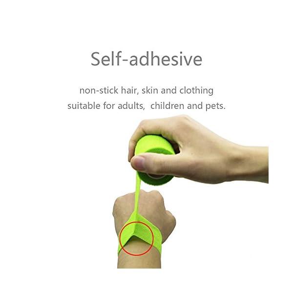 YUMAI vendaje cohesivo de primeros auxilios cinta autoadhesiva 5CM Paquete de 6, Paquete de 12 aprobado por la FDA… 8