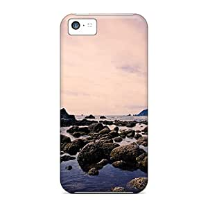 Premium Iphone 5c Case - Protective Skin - High Quality For Shore Rocks
