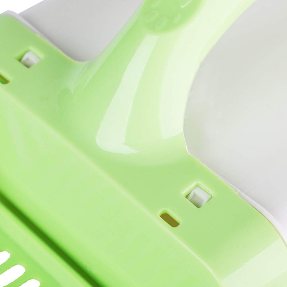 Ruiting Pet Litter Scoop Sifter Green Deep Shovel with Waste Box Dog Poop Processor Cat Litter Scoop System