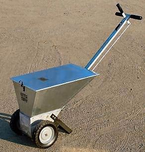 White Line Little Tuffy Sport Field Dry Line Marker - 60 lb. capacity