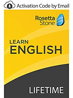 Rosetta Stone: Learn English with Lifetime Access on iOS, Android, PC, and Mac [Activation Code by Email] (B07GJP2K4T) | Amazon price tracker / tracking, Amazon price history charts, Amazon price watches, Amazon price drop alerts