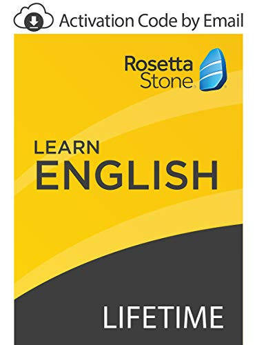 Rosetta Stone: Learn English with Lifetime Access on iOS, Android, PC, and Mac [Activation Code by Email]