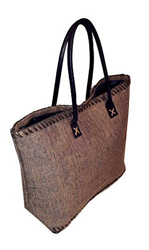 Tote Bag - Custom Embroidery Available (Navy - Monogrammed) (Custom Beach Bags)
