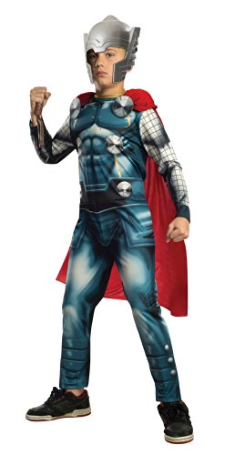 Marvel Universe Avengers Assemble Thor Costume, Small (Thor Girl Halloween Costume)