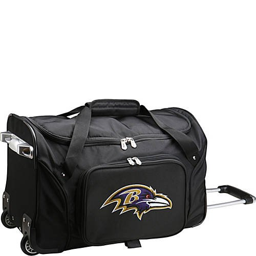NFL 22'' Rolling Duffel Baltimore Ravens by TableTop King