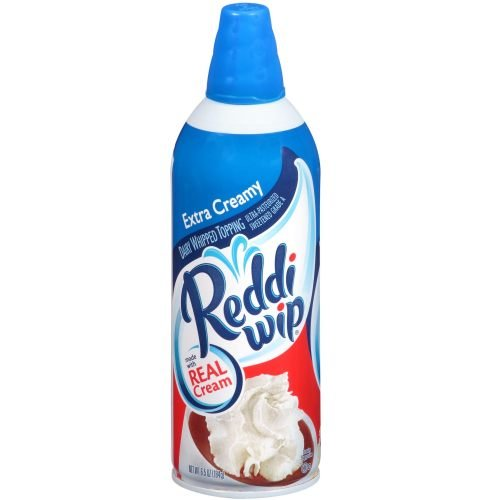 Reddi Whip Deluxe Whipping Cream, 6.5 Ounce -- 12 per case.
