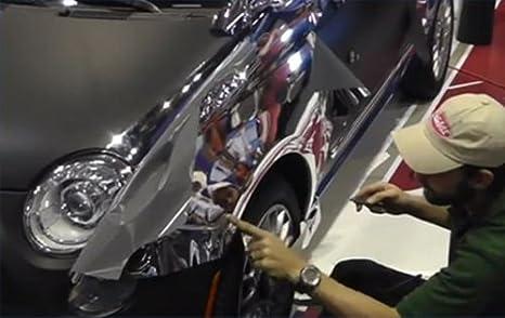 cromato Schermo Pellicola a Specchio Stretchable cromato nero per applicazione 3d Wrapping