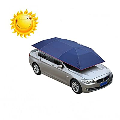 Binglinghua CE Automatic Car Tent Sun Shade Umbrella Awning Car Umbrella with Remote Control