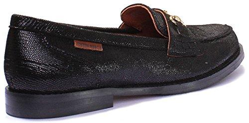 femme Matt Bottes PN12 Black cuir Shiny en nbsp;pour Justin Reece 8800 PwqtR7T