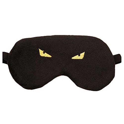 dolly2u Monster Contoured & Comfortable Sleep Mask Eye-shade Aid-sleeping Black (Cute Construction Worker Costumes)