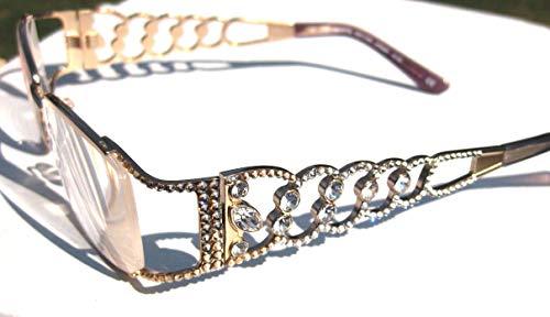 Jimmy Crystal of NY Bling Reading Glasses 2.00 with Swarovski Elements JCR287