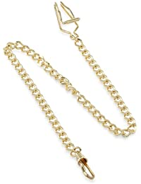 3547-G Gold-Plated Pocket Watch Chain