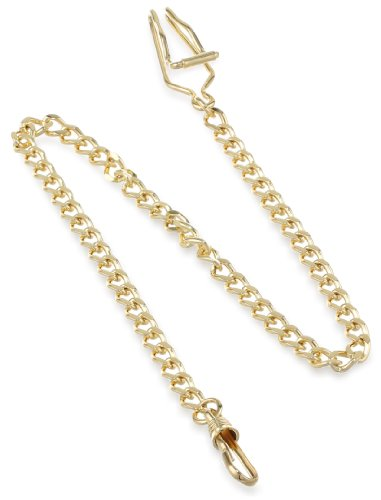 CharlesHubert Paris 3547G GoldPlated Pocket Watch Chain