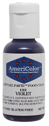 Americolor Soft Gel Paste Food Color, .75-Ounce, Violet